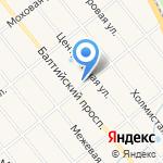 Церковь Владимира равноапостольного на карте Санкт-Петербурга