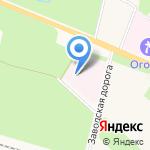 Психоневрологический интернат №2 на карте Санкт-Петербурга