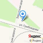 Сеть спортивно-оздоровительных комплексов на карте Санкт-Петербурга