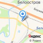 Патент на карте Санкт-Петербурга