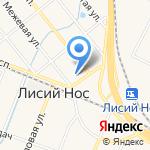 Почтовое отделение №755 на карте Санкт-Петербурга