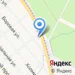 Пожарно-спасательная часть №59 Приморского района на карте Санкт-Петербурга