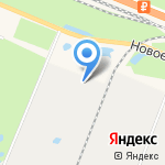 Сертоловский на карте Санкт-Петербурга