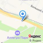 Центр автоуслуг на карте Санкт-Петербурга