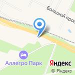 Едем! Едем! на карте Санкт-Петербурга
