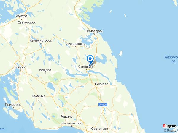СНТ Славянка на карте