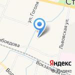 СуШеф на карте Санкт-Петербурга