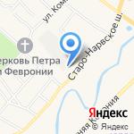 Надалекс Строй на карте Санкт-Петербурга