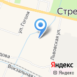 Мини-маркет на карте Санкт-Петербурга