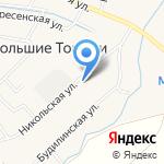 Никольская Усадьба на карте Санкт-Петербурга