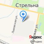 АСК-С на карте Санкт-Петербурга