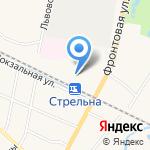Сеть платных туалетов на карте Санкт-Петербурга