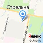 Комбат на карте Санкт-Петербурга
