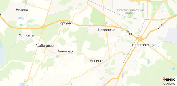 Лесопитомник на карте