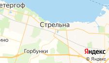 Отели города Стрельна на карте