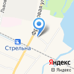 Сеть автомоечных комплексов на карте Санкт-Петербурга