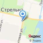 Беркут на карте Санкт-Петербурга