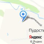 Пудостьская средняя общеобразовательная школа на карте Санкт-Петербурга