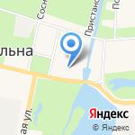 Ветеринарная клиника на карте Санкт-Петербурга