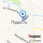 Почтовое отделение №352 на карте Санкт-Петербурга
