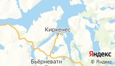 Отели города Киркенес на карте