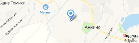 Победа на карте Аннино