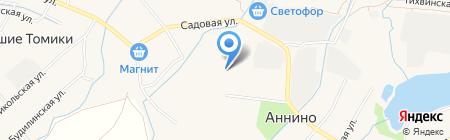 Аннинская средняя общеобразовательная школа на карте Аннино