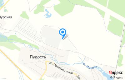 Местоположение на карте пункта техосмотра по адресу Ленинградская обл, Гатчинский р-н, п Пудость, ул Новая, д 49
