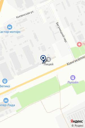 АВТОШКОЛА АВТОМОБИЛИСТ на карте Киришей