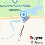 Strelna-Estate на карте Санкт-Петербурга