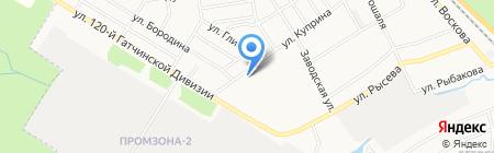 ДИКСИ на карте Гатчины