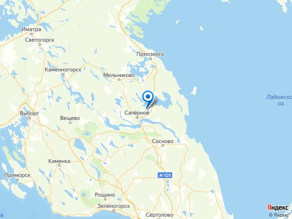 поселок Красноармейское на карте