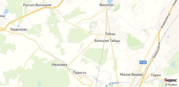 Тихвинка на карте