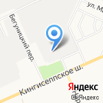 Промгазавтоматика на карте Санкт-Петербурга