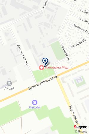 СТАНЦИЯ ТЕХНИЧЕСКОГО ОСМОТРА АВТОТЕХНОСЕРВИС на карте Киришей