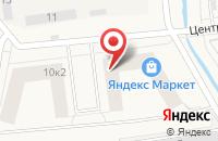 Схема проезда до компании САНДОР в Новоселье
