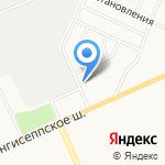 Русская студия на карте Санкт-Петербурга
