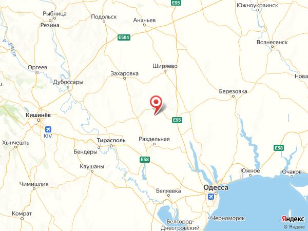 село Казаково на карте