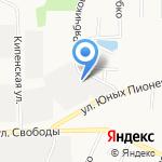 Студия йоги на карте Санкт-Петербурга