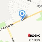 Магазин канцелярии и печатной продукции на карте Санкт-Петербурга