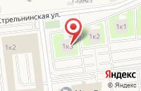 Схема проезда до компании Единый центр новостроек Тренд в Новоселье