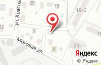 Схема проезда до компании Удачный в Новотырышкино