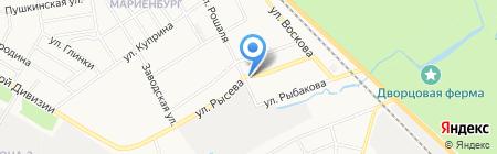 Элитный Пар на карте Гатчины