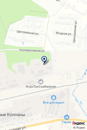 ПРОИЗВОДСТВЕННАЯ КОМПАНИЯ ПЕТРОМАКС на карте Гатчины