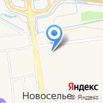 Строительный трест на карте Санкт-Петербурга
