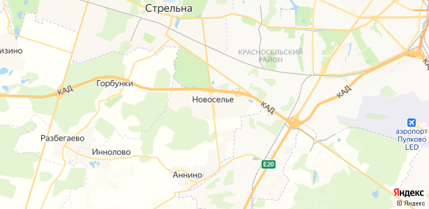 Новоселье на карте