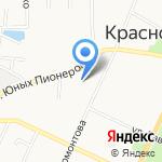 Средняя общеобразовательная школа №262 на карте Санкт-Петербурга