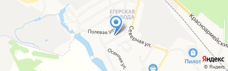 Любимый Дом на карте Гатчины