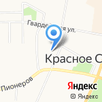 СТО на карте Санкт-Петербурга
