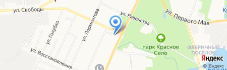 Магазин зоотоваров на ул. Свободы (Красносельский район) на карте Санкт-Петербурга